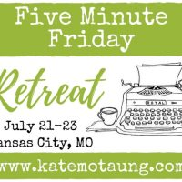 five minute friday :: friend