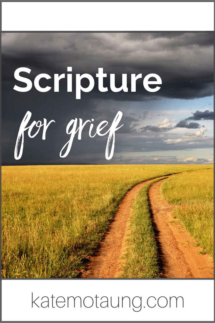 scripture for grief how