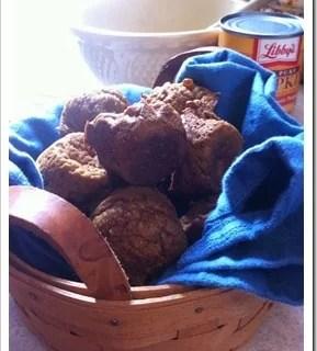 Pumpkin Protein Mini-Muffins