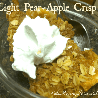 Light Pear Apple Crisp