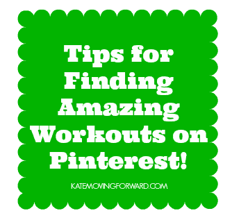 tips for finding amazing workouts on pinterest