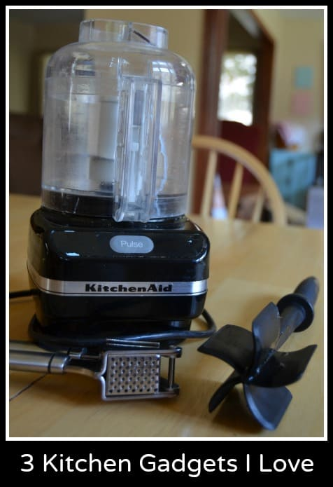 3 Kitchen Gadgets I Love