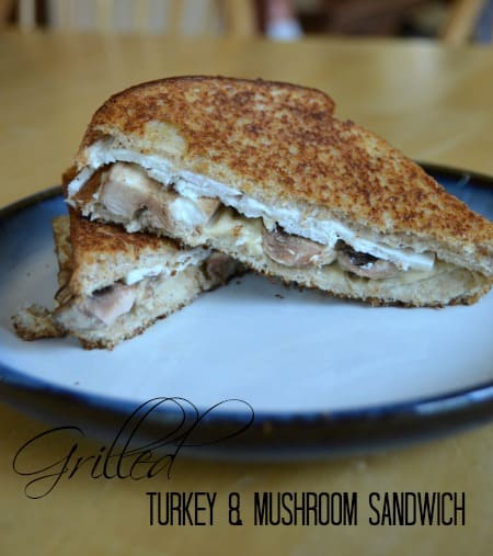 Grilled Turkey and Mushroom Sandwich