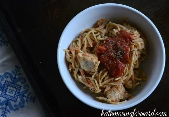 Healthy Italian pasta