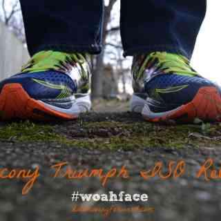 Saucony Triumph Review #whoaface