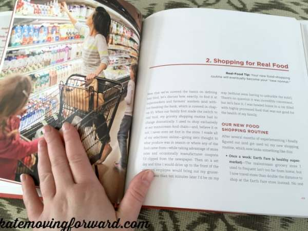 review of 100 days of real food cookbook