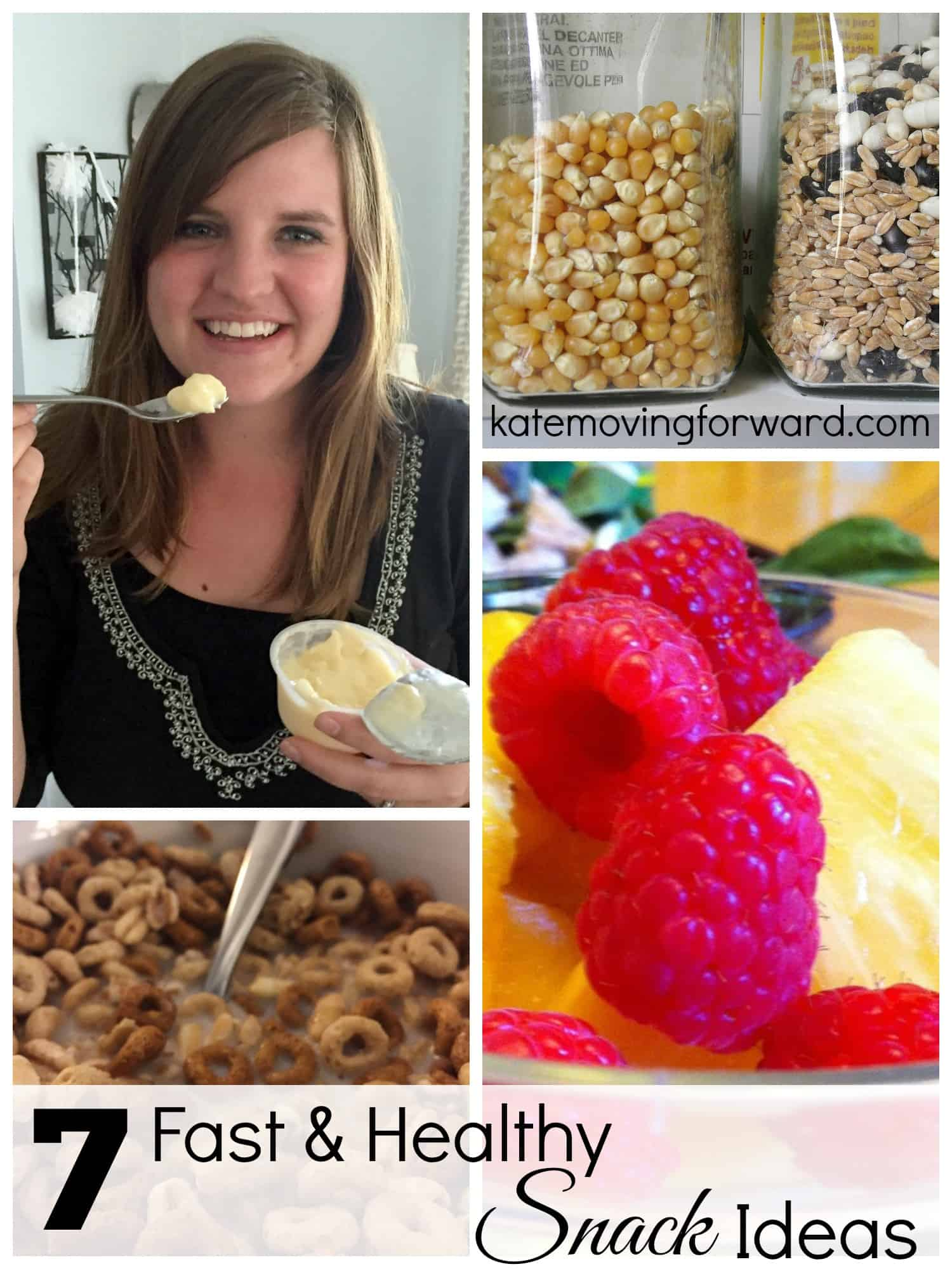 fast healthy snack ideas