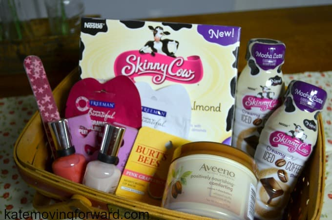 skinny cow gift basket