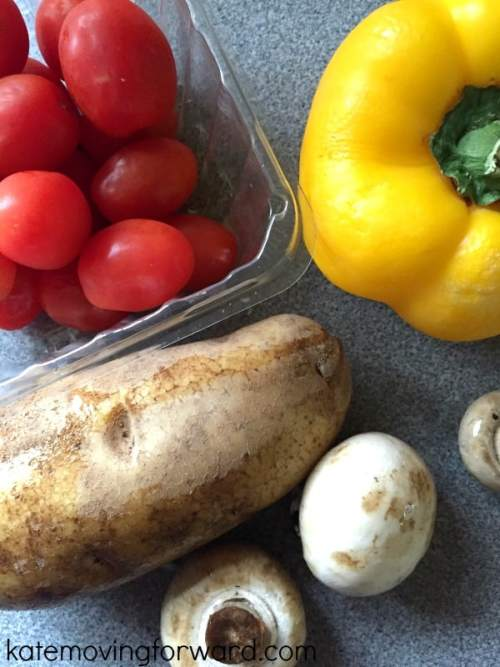 Recipe for fresh veggies on the grill