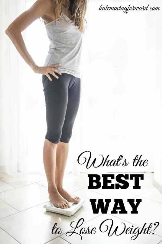 What's the best way to lose weight