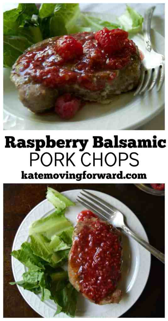 Raspberry Balsamic Pork Chops--ready for the grill!