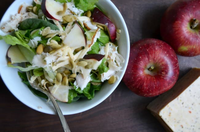 Harvest Salad with apples