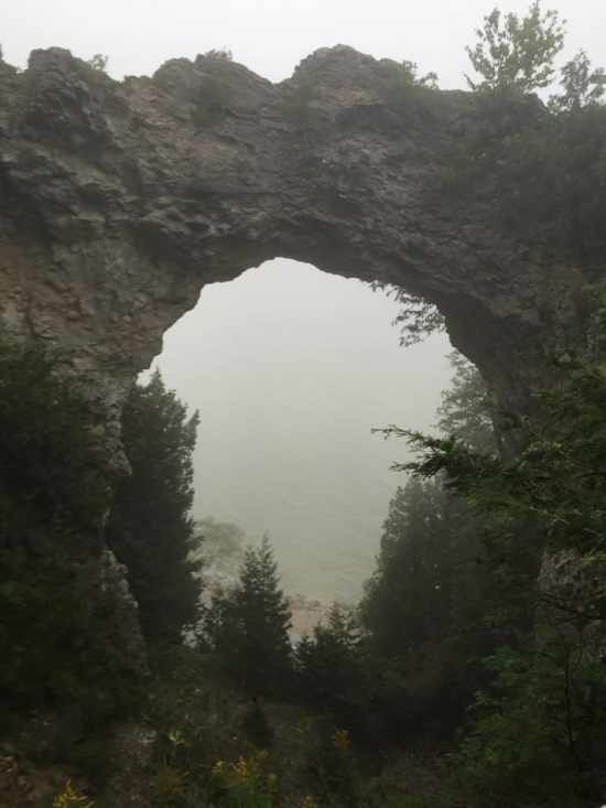 arch rock mackinac