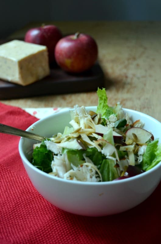 Straight Harvest Apple Salad