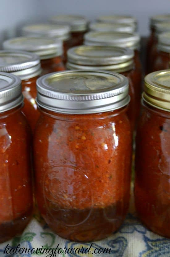 canning tomato sauce at home