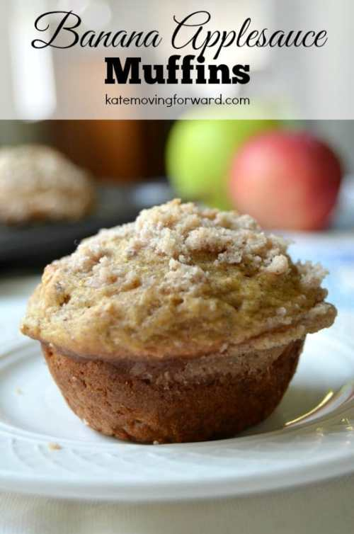 Banana and Applesauce Muffins--easy and delicious!