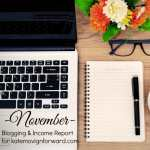 November Blogging Income Report