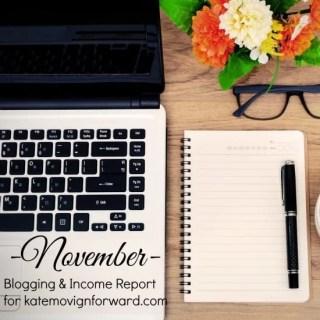 November Blogging Income Report