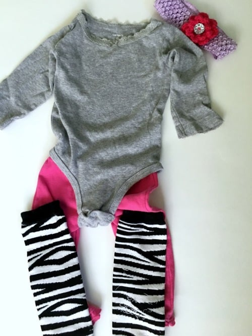 80s baby costume