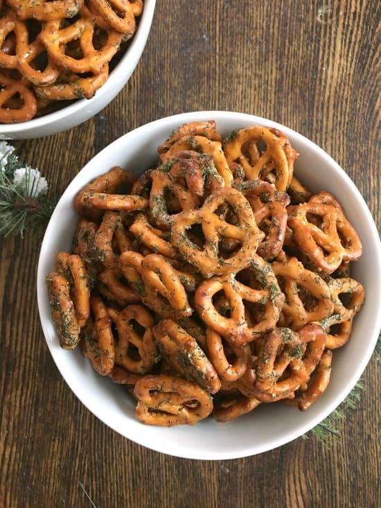 Spiced Pretzels - an addictive snack!