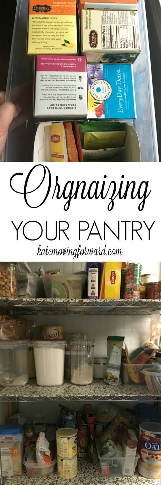 Organizing Your Pantry - Pantry Organization - Organizing Cupboards - Cleaning Pantry -