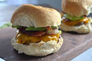 Bacon Burgers - YUM!