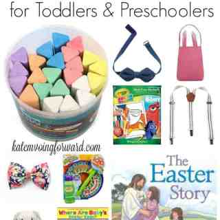 Easter Baskets for Toddlers and Preschoolers