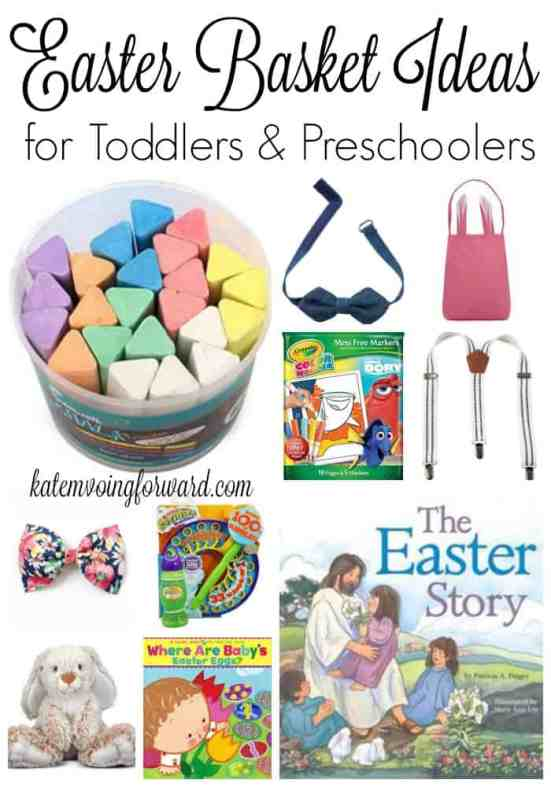Easter Basket Ideas for Toddlers and Preschoolers - Easter Ideas - Non-candy Easter Baskets