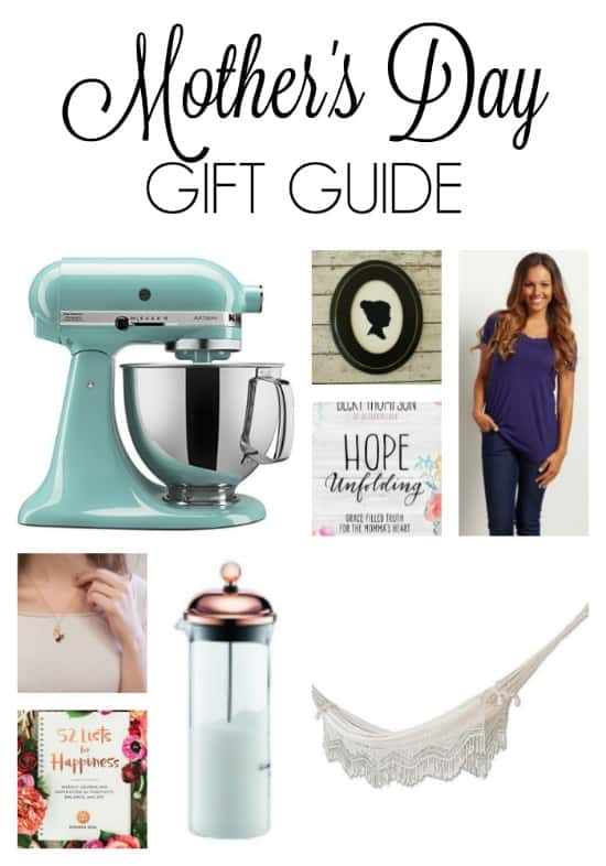 Mother's Day Gift Guide - Gift guide for moms - mom gifts - mother's day