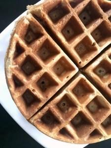 Whole Wheat Waffles Homemade