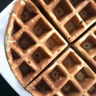 Whole Wheat Waffles Homemade