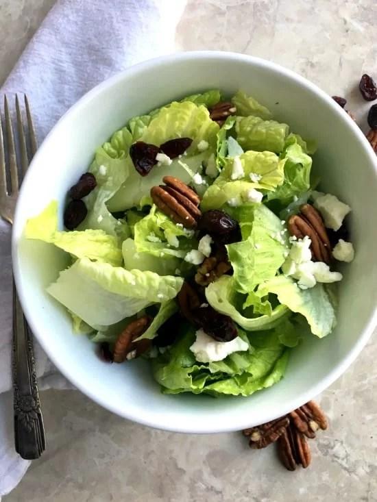 Cranberry Pecan Feta Salad