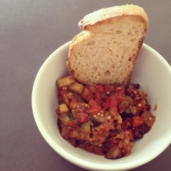 Ratatouille with Rustic Bread