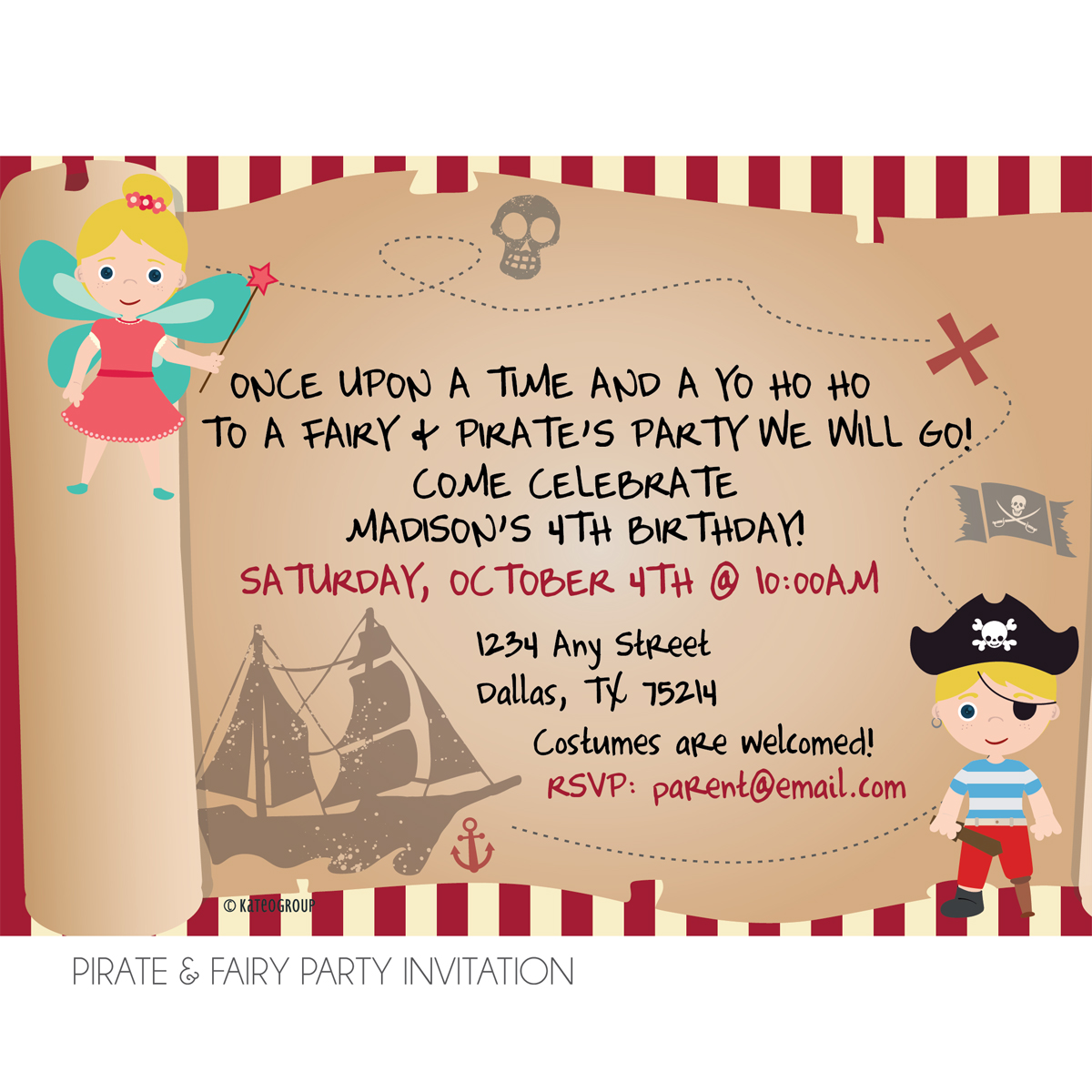 Custom Invitations Dallas