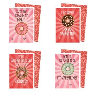 Printable-Donut-Valentines-Cards