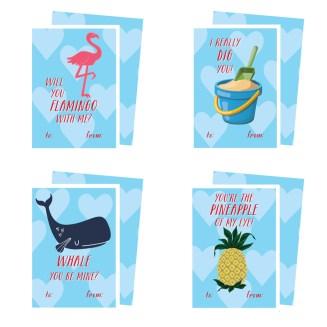 Printable-Seaside-Valentines-Cards