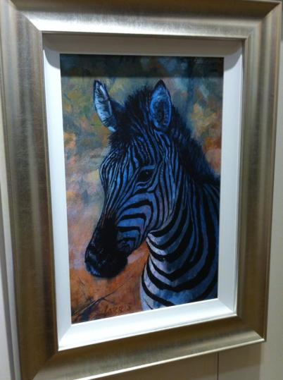 Rolf Harris' wildlife art exhibition in Norwich