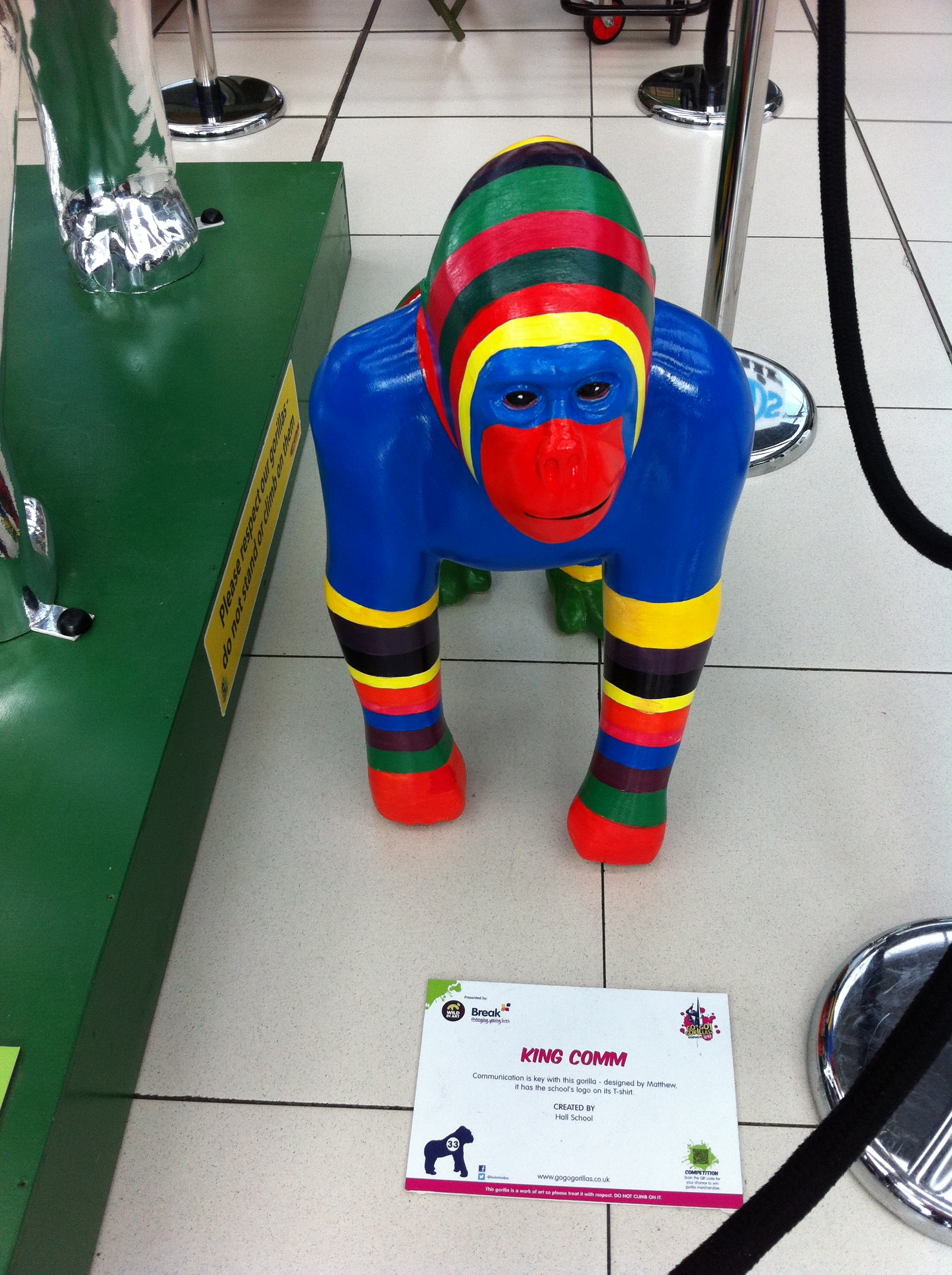 Go Go Gorillas King Comm - Norwich