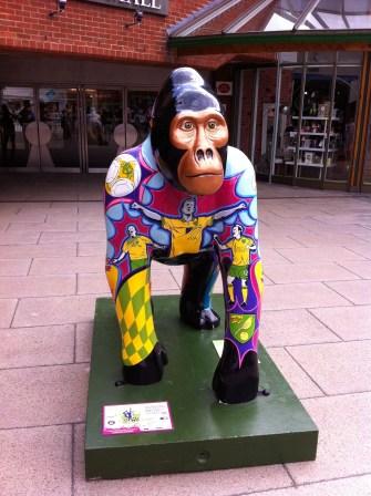Go Go Gorilla Ivan, the Iconic Norwich Gorilla