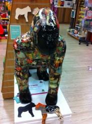 Go Go Gorilla Rilla in a onesie, Norwich