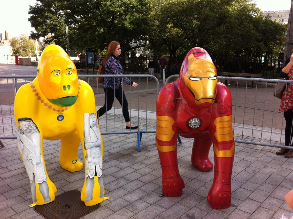 Go Go Gorillas Iron Ape and Geoffrey - Norwich