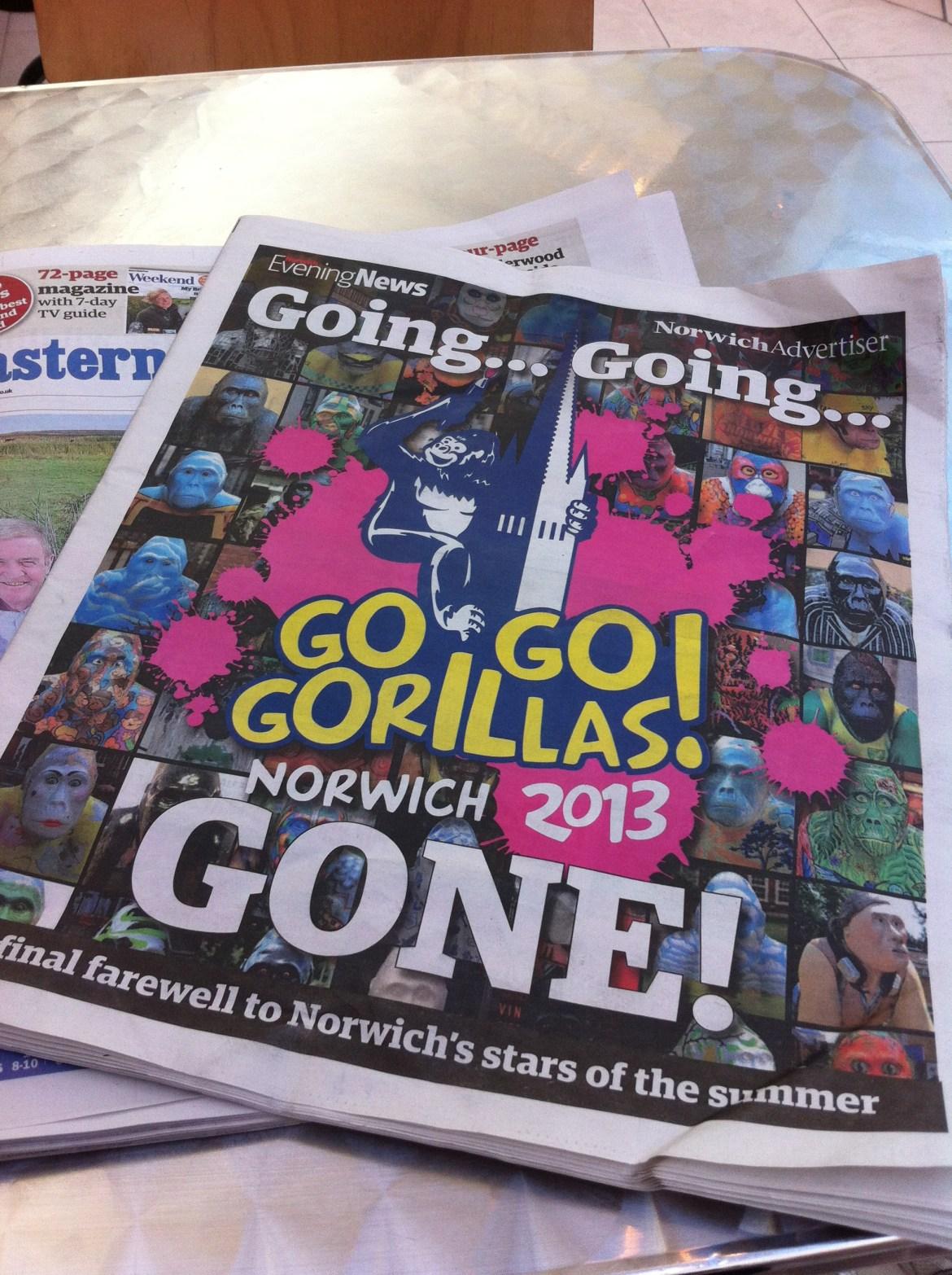 Go Go Gorillas 2013 - Norwich