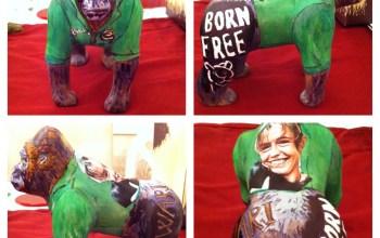 Kate on Conservation design of Go go gorilla for born free
