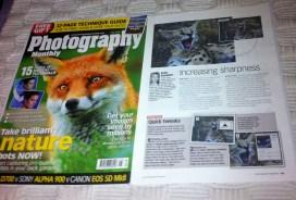 Photography monthly magazine