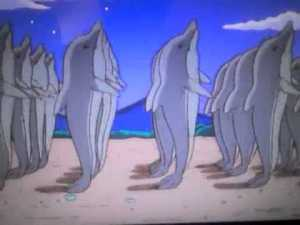 dolphin army animation