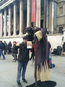 Nick Stephenson & Death protest to Save our Lions