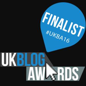 UK Blog awards instagram