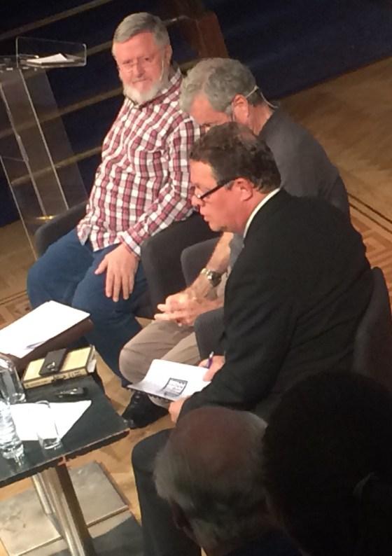 Craig Packer, John Hume and Will Travers
