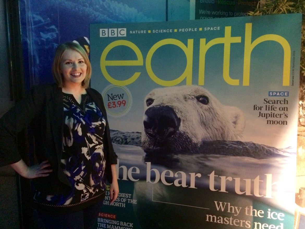 BBC Earth Magazine's launch night in London