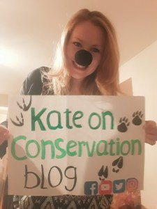kate on conservation wetnose day